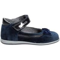 Topánky Dievčatá Balerínky a babies Melania ME0120A7I.A Modrá