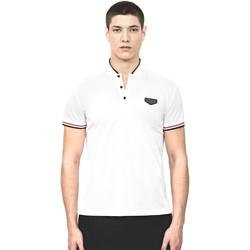 Oblečenie Muži Polokošele s krátkym rukávom Antony Morato MMKS01467 FA100083 Biely