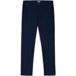 Oblečenie Muži Nohavice Chinos a Carrot NeroGiardini E070682U Modrá