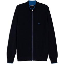 Oblečenie Muži Cardigany NeroGiardini E074560U Modrá