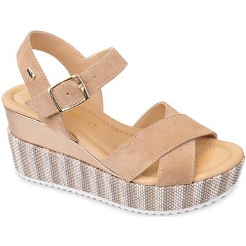 Topánky Ženy Sandále Valleverde 32435 Béžová