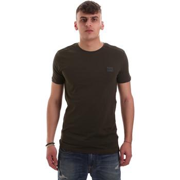 Oblečenie Muži Tričká s krátkym rukávom Antony Morato MMKS01417 FA120001 Zelená