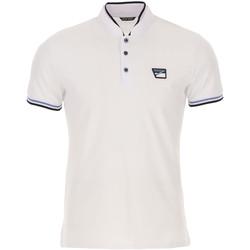 Oblečenie Muži Polokošele s krátkym rukávom Antony Morato MMKS01691 FA100083 Biely