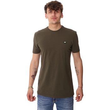 Oblečenie Muži Tričká s krátkym rukávom Antony Morato MMKS01737 FA120022 Zelená