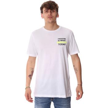 Oblečenie Muži Tričká s krátkym rukávom Antony Morato MMKS01786 FA100189 Biely