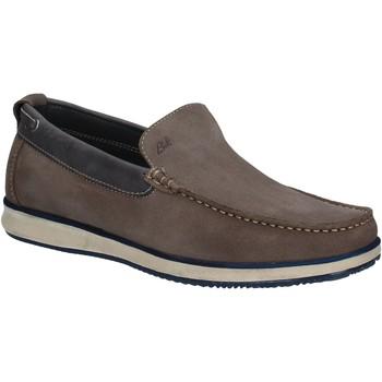Topánky Muži Mokasíny Braking 5966 Šedá