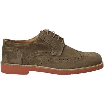 Topánky Muži Derbie Exton 9190 Hnedá