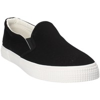 Topánky Muži Slip-on Gas GAM810165 čierna