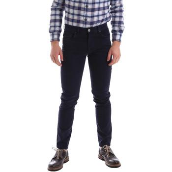 Oblečenie Muži Nohavice päťvreckové Sei3sei 02396 Modrá