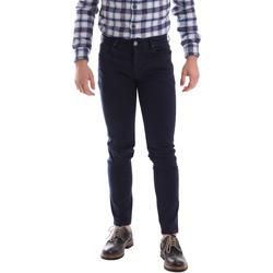 Oblečenie Muži Nohavice päťvreckové Sei3sei 02696 Modrá