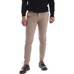 Oblečenie Muži Nohavice Chinos a Carrot Sei3sei 02396 Béžová