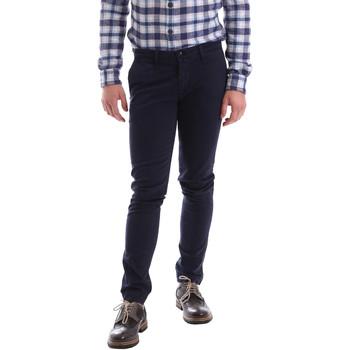 Oblečenie Muži Nohavice Chinos a Carrot Sei3sei 02396 Modrá