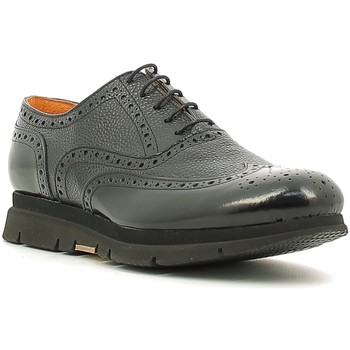 Topánky Muži Derbie Rogers 3863-6 čierna
