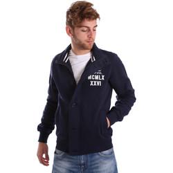 Oblečenie Muži Bundy  Key Up FGS7 0001 Modrá