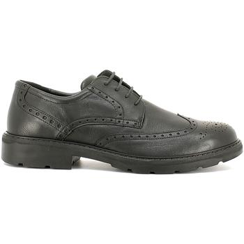 Topánky Muži Derbie Enval 6872 čierna