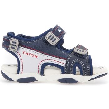 Topánky Deti Športové sandále Geox B821AA 08522 Modrá