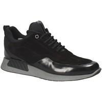 Topánky Muži Nízke tenisky Exton 162 čierna