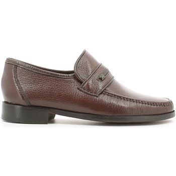Topánky Muži Mokasíny Fontana 1934 CE Hnedá