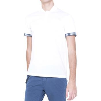 Oblečenie Muži Polokošele s krátkym rukávom Antony Morato MMKS00999 FA100083 Biely