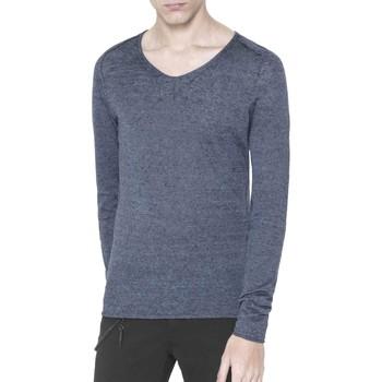 Oblečenie Muži Svetre Antony Morato MMSW00639 YA500041 Modrá