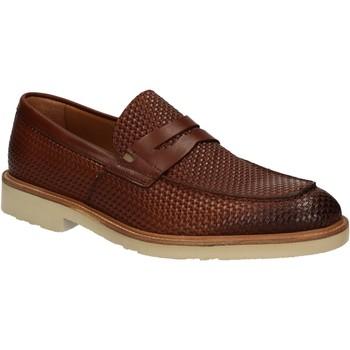 Topánky Muži Mokasíny Maritan G 160771 Hnedá