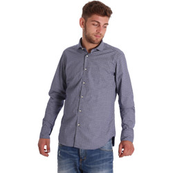 Oblečenie Muži Košele s dlhým rukávom Gmf 971192/03 Modrá