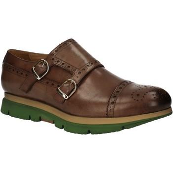 Topánky Muži Derbie Rogers RUN09 Hnedá