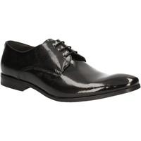 Topánky Muži Derbie Rogers 9235A čierna