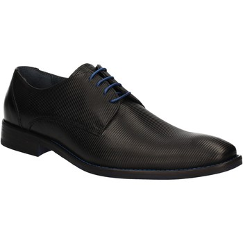 Topánky Muži Derbie Rogers 1608B čierna