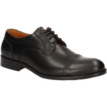 Topánky Muži Derbie Rogers 1602B čierna