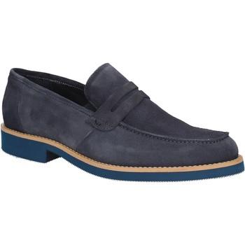 Topánky Muži Mokasíny Rogers 1008B Modrá