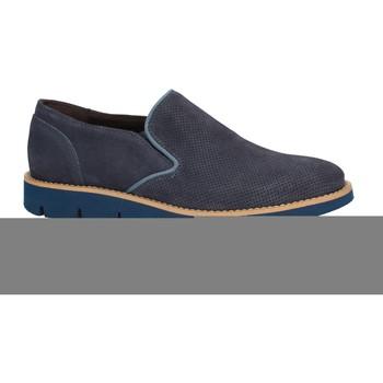 Topánky Muži Mokasíny Rogers 1702B Modrá