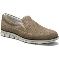Topánky Muži Mokasíny Keys 3073 Béžová