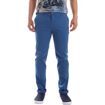 Oblečenie Muži Nohavice Chinos a Carrot Sei3sei PZVI69 7148 Modrá