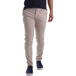 Oblečenie Muži Nohavice Chinos a Carrot Sei3sei PZV21 7183 Béžová