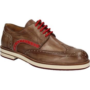 Topánky Muži Derbie Exton 609 Hnedá