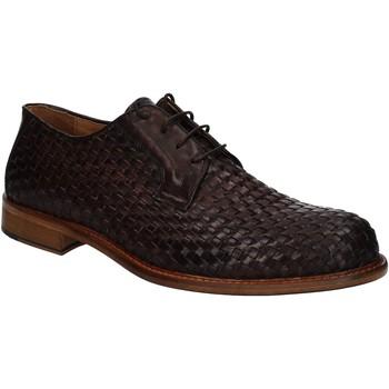 Topánky Muži Derbie Exton 9910 Hnedá
