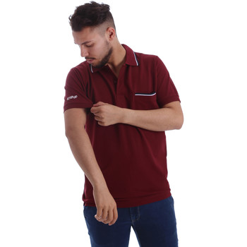 Oblečenie Muži Polokošele s krátkym rukávom Key Up 2827Q 0001 Červená