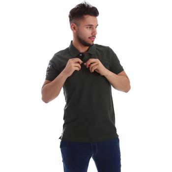 Oblečenie Muži Polokošele s krátkym rukávom Key Up 255QG 0001 Zelená