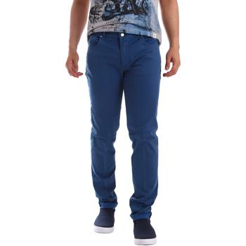 Oblečenie Muži Nohavice päťvreckové Sei3sei PZV17 71339 Modrá