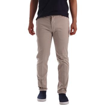 Oblečenie Muži Nohavice Chinos a Carrot Sei3sei PZV20 7148 Béžová