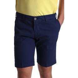 Oblečenie Muži Šortky a bermudy Sei3sei PZV132 7182 Modrá
