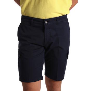 Oblečenie Muži Šortky a bermudy Sei3sei PZV130 7148 Modrá