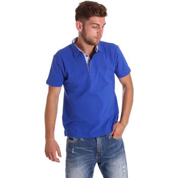 Oblečenie Muži Polokošele s krátkym rukávom Bradano 000116 Modrá