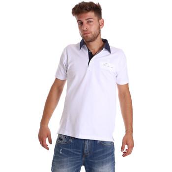 Oblečenie Muži Polokošele s krátkym rukávom Bradano 000115 Biely