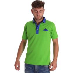 Oblečenie Muži Polokošele s krátkym rukávom Bradano 000114 Zelená