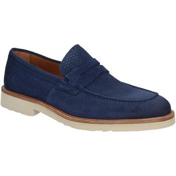 Topánky Muži Mokasíny Maritan G 160771 Modrá