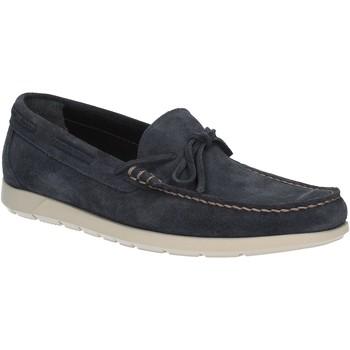 Topánky Muži Mokasíny Maritan G 460363 Modrá