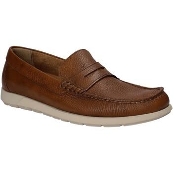 Topánky Muži Mokasíny Maritan G 460364 Hnedá