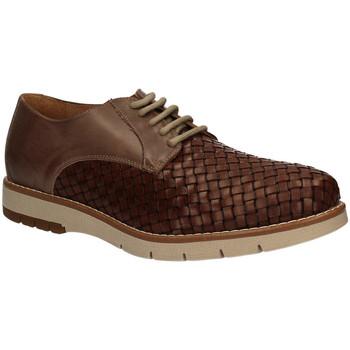 Topánky Muži Derbie Keys 3041 Hnedá